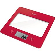 Sencor SKS 5024RD Red - Kitchen Scale