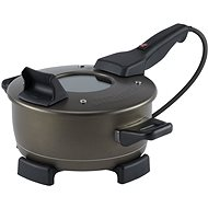 REMOSKA R 21F TS ORIGINAL TEFLON CH.GOLD - Portable Electric Oven