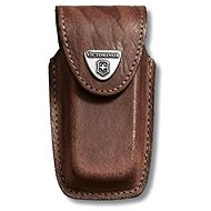 Victorinox 91mm Leather Knife Pouch brown - Knife Case