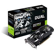 ASUS DUAL Geforce GTX 1050 2G V2 - Graphics Card