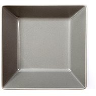 ELITE square plate 17.5 x 17.5cm grey, set of 6pcs - Plate