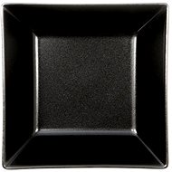 ELITE Plate deep square 17.5x17.5cm black, set 6pcs - Plate