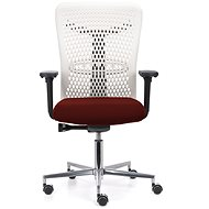 EMAGRA ATHENA IVORY Red - Office Chair