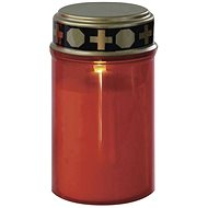 EMOS LED graveyard candle with sensor, 2 × AA, red - Candle