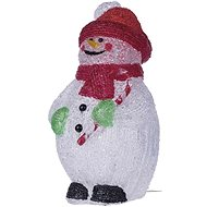 EMOS LED decoration - snowman, IP44, cold white, timer - Christmas Lights
