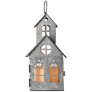 LED Decoration - Ancient House, 3x AAA, Flashing, Warm White - Christmas Lights