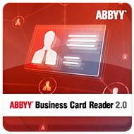 ABBYY Business Card Reader 2.0 for Windows (Electronic License) - Software