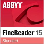 ABBYY FineReader 15 Standard Upgrade (Electronic License) - Software OCR