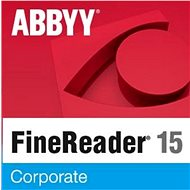 ABBYY FineReader 15 Corporate upgrade (Electronic License) - Software OCR