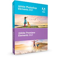 Adobe Photoshop Elements + Premiere Elements 2020 CZ (Electronic License) - Graphics Software