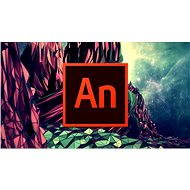 Adobe Animate Creative Cloud (Flash Pro) MP ML (incl. CZ) Commercial (12 Months) (Electronic License - Graphics Software
