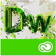 Adobe Dreamweaver Creative Cloud MP ML (incl. CZ) Commercial (12 months) (Electronic License) - Graphics Software
