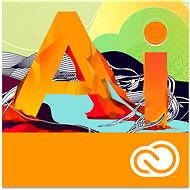 Adobe Illustrator Creative Cloud MP ENG Commercial (1 month) (Electronic License) - Electronic license