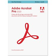 Acrobat Professional 2020 MP CZ Upgrade (Electronic License) - Office Software