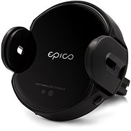 Epico Wireless Charging Sensor Car Holder 10W/7.5W/5W - black - Holder