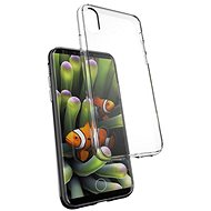 Epico Twiggy Gloss for iPhone X, black transparent - Protective Case
