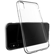 Epico Twiggy Gloss for iPhone X, white transparent - Mobile Case