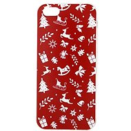 Epico RED XMAS for iPhone 5/5S/SE - Protective Case