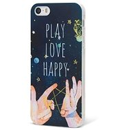 Epico Play, Love, Happy for iPhone 5 / 5S / SE - Silicone Case