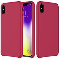 Epico Silicone for iPhone XR - Dark Pink - Mobile Case