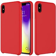 Epico Silicone for iPhone XS Max - red - Mobile Case