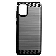 Mobile Case EPICO CARBON Samsung Galaxy A71, Black - Kryt na mobil