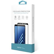 Epico Glass 2.5D for Samsung Galaxy A70 - black - Glass protector