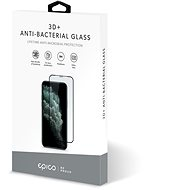 Epico Anti-Bacterial 3D+ Glass, iPhone XS Max/11 Pro Max, Black - Glass Protector