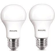 Philips LED 9-60W E27, 2700K, Milk, set 2pc - LED bulb