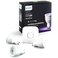 Philips Hue White and Color ambiance GU10 6.5W starter kit - LED bulb