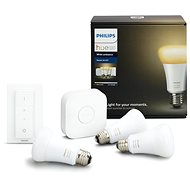 Philips Hue White Ambiance 9.5W A60 Starter Kit - LED bulb