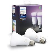 Philips Hue White and Colour Ambiance 10W E27 Set 2-Pack - LED bulb