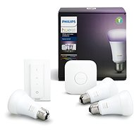 Philips Hue White and Colour Ambiance 10W E27 Starter Kit - LED bulb