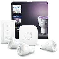 Philips Hue White and Color ambiance 6.5W GU10 starter kit - LED bulb
