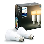 Philips Hue White Ambiance 8.5W A60 set 2-pack