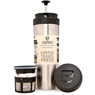 ESPRO Travel Press Brushed Stainless