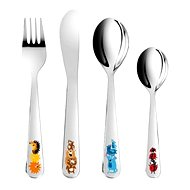 Tescoma BAMBINI child cutlery - colourful animals - Cutlery for children