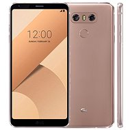 LG G6 Gold - Mobile Phone