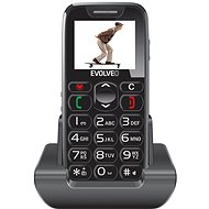 EVOLVEO EasyPhone Black - Mobile Phone