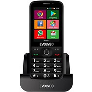 EVOLVEO EasyPhone AD Black - Mobile Phone
