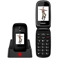 EVOLVEO EasyPhone FD, Black - Mobile Phone