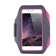 Mobilly Handheld Sports Case, Pink - Mobile Phone Case