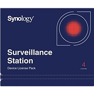 Synology NAS - Camera License Pack - 4 Licenses - Software
