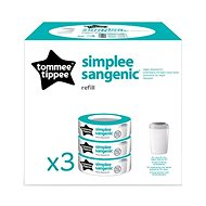 Sangenic replacement cartridges Simplee - 3pcs - Children's kit
