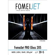 FomeiJet PRO Gloss 205 13x18 - 20 sheets + 5 free - Photo Paper