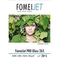 FomeiJet PRO Gloss 265 13x18 - pack of 20pcs + 5pcs for free - Photo Paper