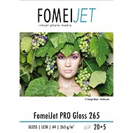 FomeiJet PRO Gloss 265 A4 - pack of 20pcs + 5pcs free - Photo Paper