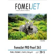 FomeiJet PRO Pearl 265 13x18 - package 20pcs + 5pcs free - Photo Paper