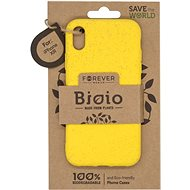 Forever Bioio for iPhone XR, Yellow - Mobile Case