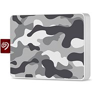 Seagate One Touch SSD 500GB, Grey/White - External hard drive